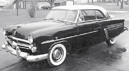1952 Ford Victoria 2 DR HT