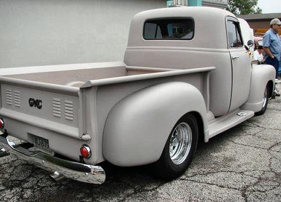 1952 Gmc Pickup Steel Street Rod