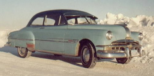 1952 Pontiac Chieftian 2 Door Sedan
