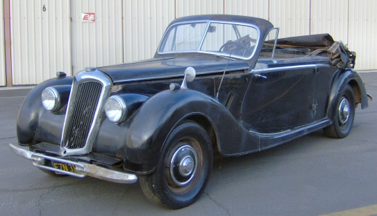 Photo of 1952 RILEY RM2.5 4 SEATER ROADSTER