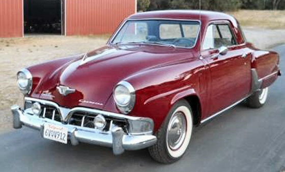 Photo of 1952 Studebaker Champion Starlite Coupe Restored