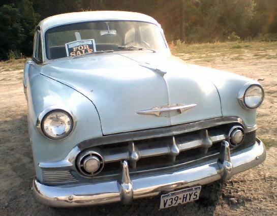 1953 chevrolet bel air two door sedan for 1953 chevrolet belair 4 door sedan