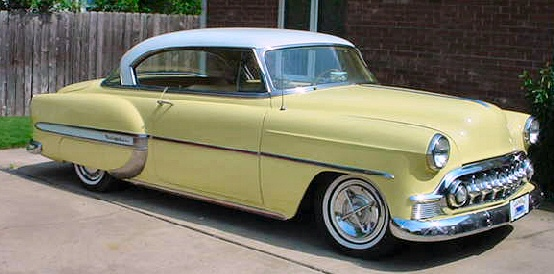 1953 CHEVROLET BEL AIR 2 DOOR HARD-TOP SPORTS COUPE