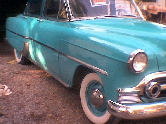 1953 chevy 210 del ray ,4dr