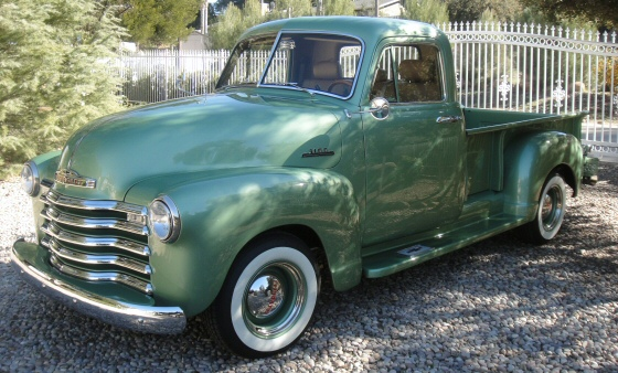 1953 Chevy 3100 Step Side Pick Up Truck