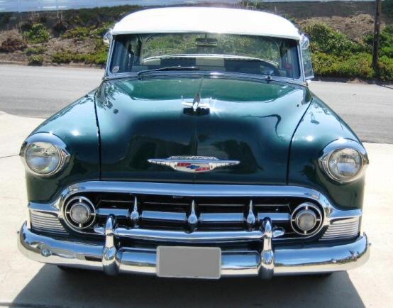 1953 chevrolet bel air 4 door sedan street rod for 1953 belair 4 door