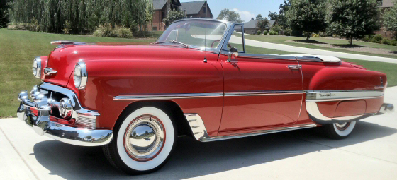 Photo of 1953 Chevy Belair Convertible Restored and Refreshed