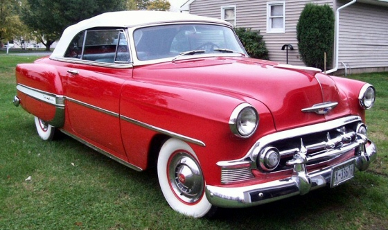 Photo of 1953 Chevrolet Bel-Air Convertible Restored