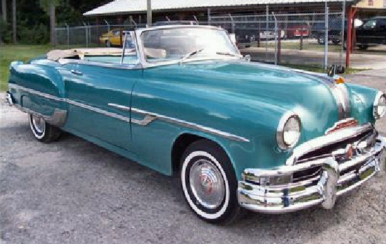 1953 Pontiac Chieftain Convertible Pictures to Pin on Pinterest