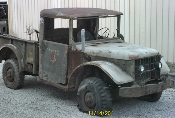 Photo of 1953 Dodge M-37 Military Power Wagon