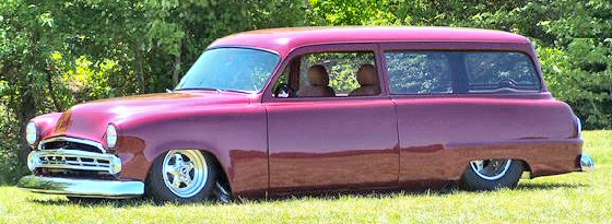 1953 DODGE MEADOWBROOK SURBURBAN 2 DOOR WAGON CUSTOM