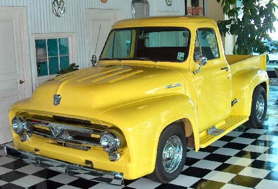 1953 1954 1955 f100 ford truck for autos weblog. Black Bedroom Furniture Sets. Home Design Ideas