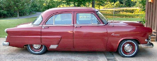 1953 ford mainline 4 door for 1953 ford 4 door sedan