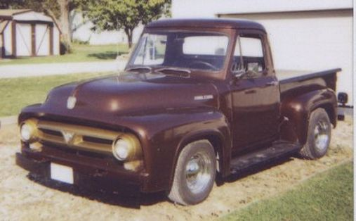 1953 ford 1/2 ton pick-up