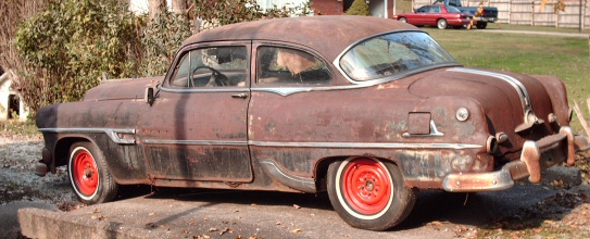 1953 PONTIAC 2 DOOR SEDAN