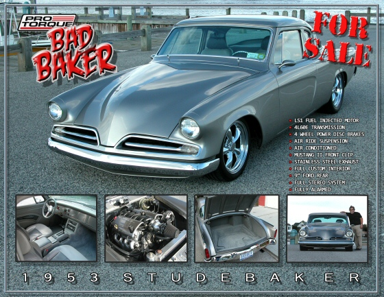 Photo of 1953 STUDEBAKER RESTOMOD