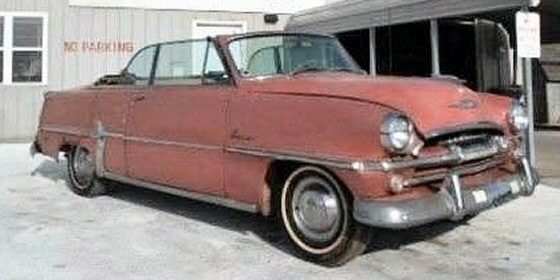 Photo of 1954 Plymouth Belvedere Convertible