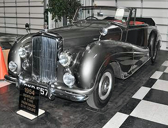 Photo of 1954 Bentley R Type Park Ward Drophead Coupe