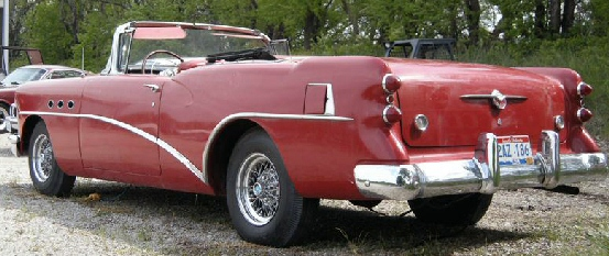 1954 Buick Special Conversion Convertible