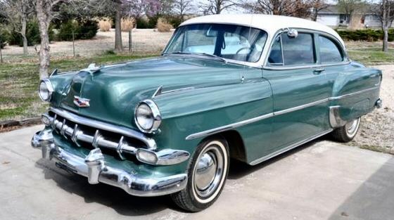 1954 chevrolet 210 2 door sedan restored original for 1954 chevy 210 2 door