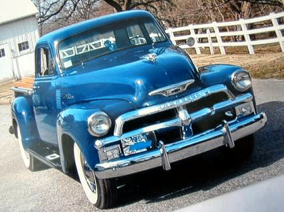 Photo of 1954 Chevrolet 3100 Pickup Truck Professionally Restored