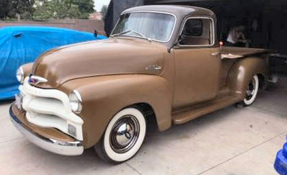 Photo of 1954 Chevy 5 Window Pickup Truck