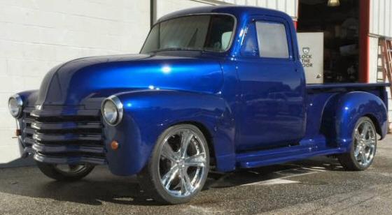 Photo Of 1954 Chevy Pickup Truck Street Rod