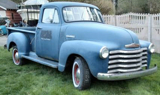 Photo of 1954 Chevy 1/2 Ton Stepside Pickup Truck Project