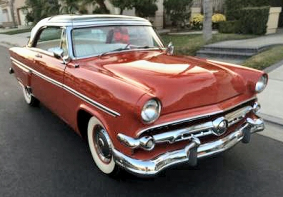Photo of 1954 Ford Crestline Skyliner Glass Top 2DR HT Restored