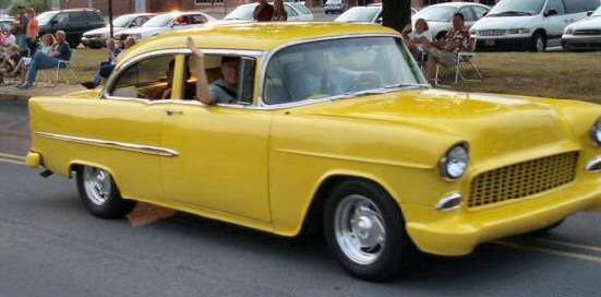 1955 Bel Air 2 Door post