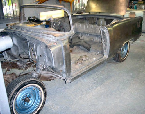1955 Chevy Bel Air Convertible Project