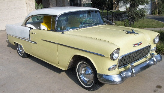1955 Chevrolet Bel Air Sport Coupe two door hardtop