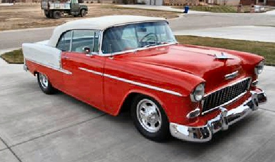 1955 Chevrolet Custom Belair Convertible