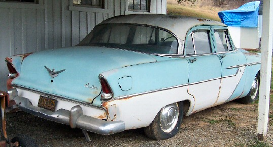 1955 plymouth belvedere 4 door sedan
