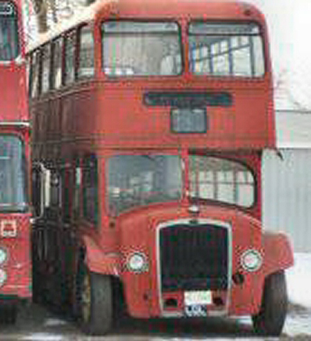 Photo of  1955 Bristol Lodeka Double Decker Bus Project