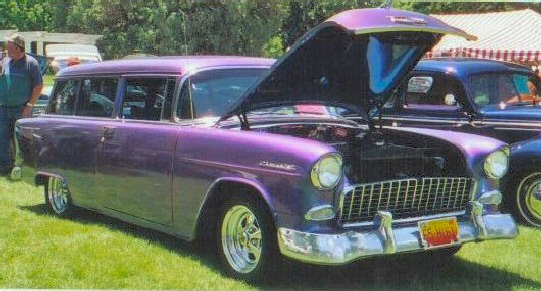 1955 CHEVY 150 2 DOOR WAGON
