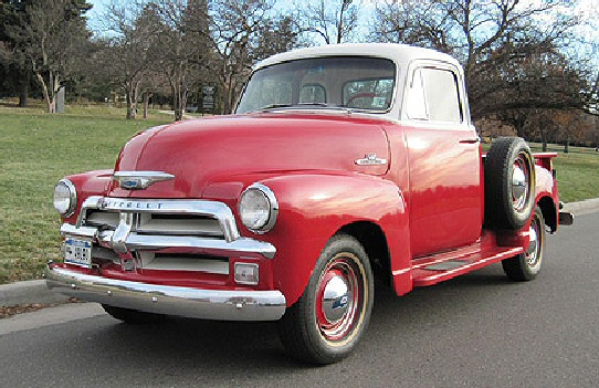 1955 chevy first series 3100 pickup for 1955 chevy 5 window truck