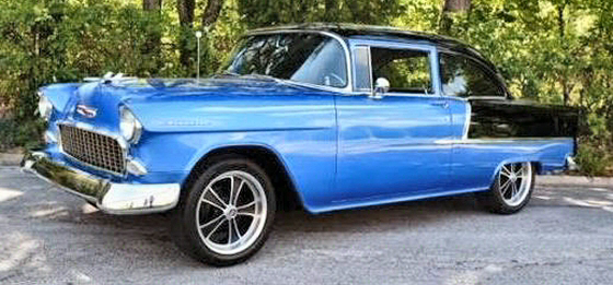 Photo of  1955 Chevrolet 210 All Steel 2DR Sedan Cruisin Cali Car