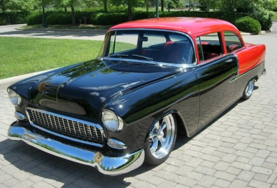 Photo of 1955 Chevrolet 210 2DR Sedan  Tri-Five Restored All Steel