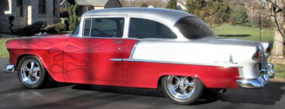 Photo of 1955 Chevy 210 All Steel 2DR Sedan With 572 CI Motor