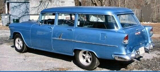 Photo of 1955 Chevrolet 210 4 DR Station Wagon Street Rod