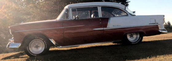 Photo of 1955 CHEVY 210 2 DR POST STREET ROD WITH 4 SPEED