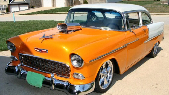 Photo of 1955 Chevrolet 210 Coupe All Steel Resto-Mod