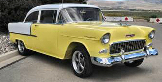 Photo of  1955 Chevrolet Bel Air 2DR Sedan Street Rod