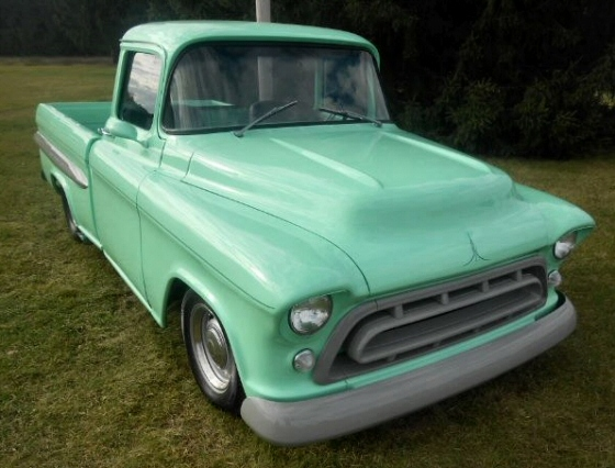 Photo of 1955 Chevrolet 3100 Big Window Pickup Mild Pro Street