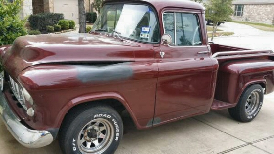 Photo of 1955 Chevy 2nd Series 3100 Stepside Pickup Truck