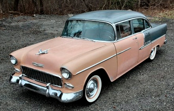 Photo of 1955 Chevy 4 Door Sedan