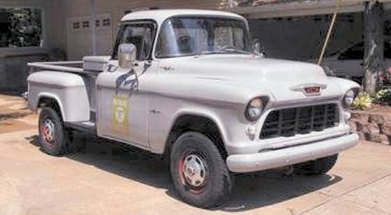 Photo of 1955 Chevrolet 4X4 Pickup  Made With  1986 3/4 ton 4X4