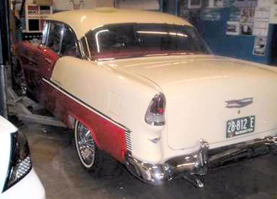 Photo of 1955 Chevy Belair 2DR Hardtop Rust Free