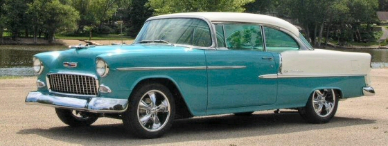 Photo of 1955 CHEVROLET BEL AIR 2 DR HT COMPLETELY RESTORED